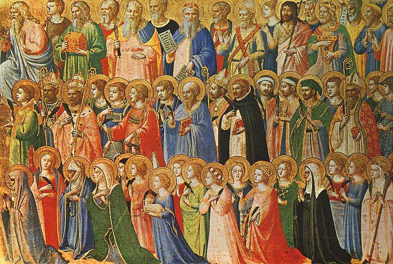 Beato Angelico, Tutti i Santi