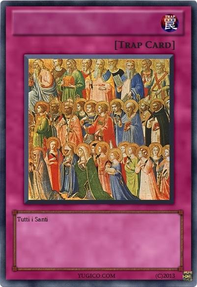 Le carte dei Santi ESCAPE='HTML'